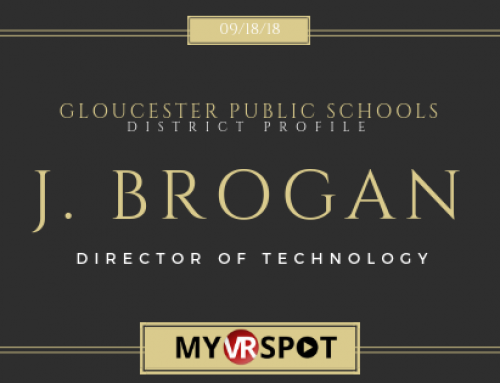 James Brogan | MyVRSpot District Profile