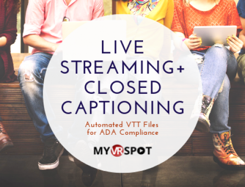 Live Stream with Closed Captioning to Automate ADA Compliance