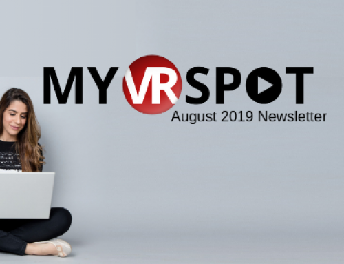 August 2019 Newsletter | MyVRSpot