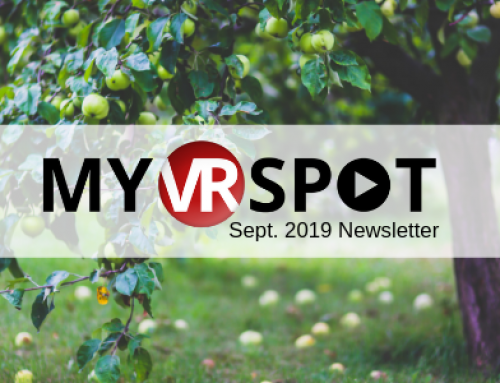 September 2019 | MyVRSpot Newsletter