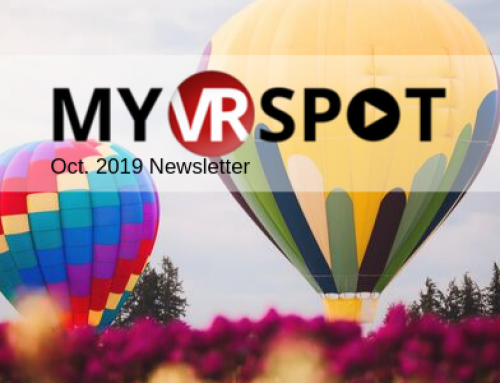 October 2019 | MyVRSpot Newsletter