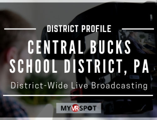 District-Wide Live Broadcasting | MyVRSpot District Profile