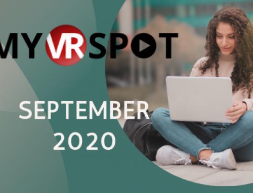 September 2020 | MyVRSpot Newsletters