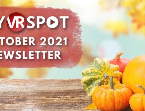 October 2021   MyVRSpot Newsletters